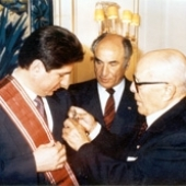 Photo 41 of 88 - Tunisian President Habib Bourghiba 03051986