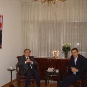 Photo 11 of 25 - Former President meets Belgium Ambassador Johan Verkamen 07032008